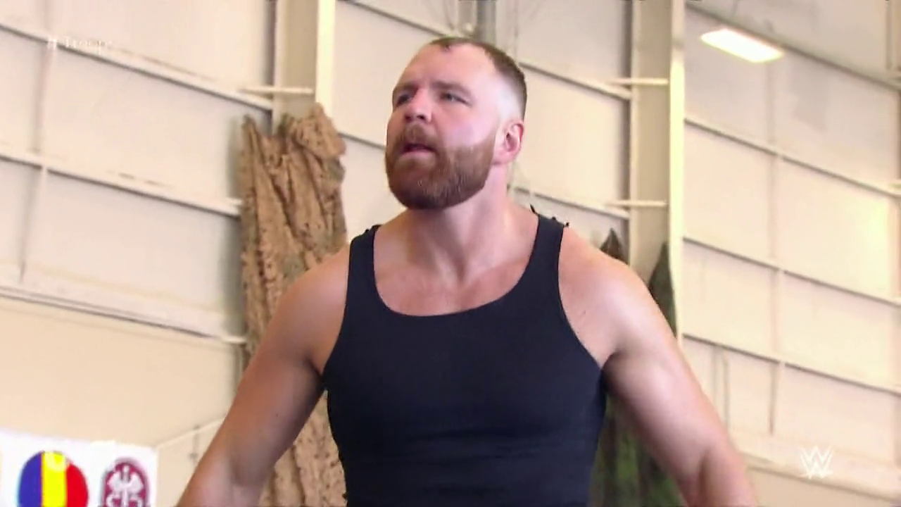 Wwe Tribute To The Troops 2018 Dean Ambrose Wwe Wwe Wrestlers