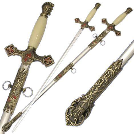 Death Sentence Medieval Fantasy Stainless Steel Grim Reaper Costume Sword