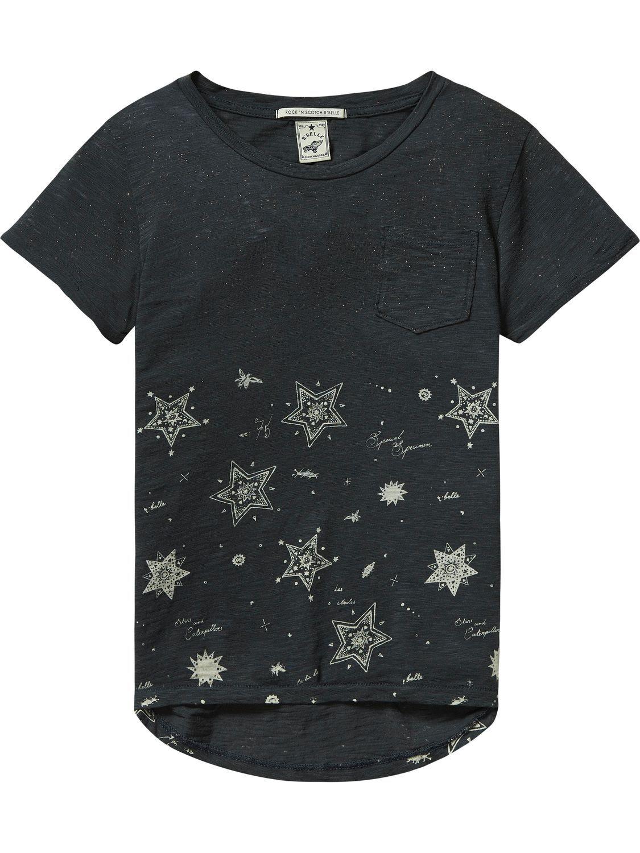 Encuentra camisetas para niña y tops para niña en la tienda online oficial  de Scotch R'Belle Scotch & Soda
