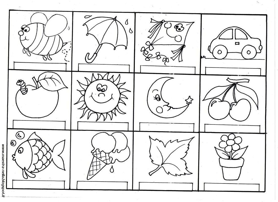 Disegni Idee E Lavoretti Per La Scuola Dell Infanzia E Non Solo Infanzia Scuola Attivita Per Bambini Di 3 Anni