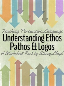Persuasive Language: Understanding Ethos, Pathos and Logos (Why am I not teaching AP Lang & Comp?!)