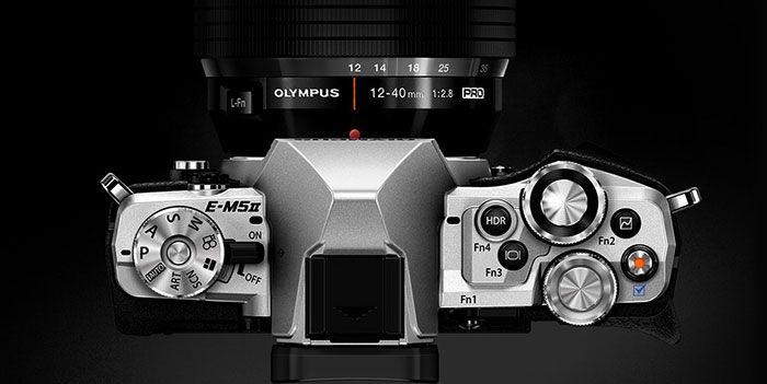 Olympus OMD EM-5 Mark ii silver