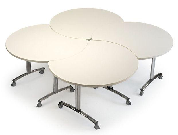 Mesa modular plegable para oficina mobiliario mesas for Mobiliario modular para oficina