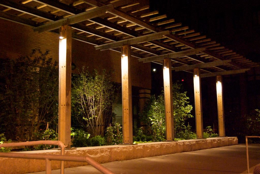 Trellis Lighting Landscape Design