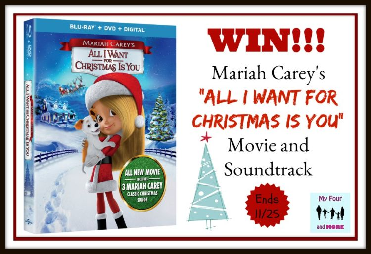 My Four And More S All I Want For Christmas Giveaway Christmas Movies Classic Songs Movies