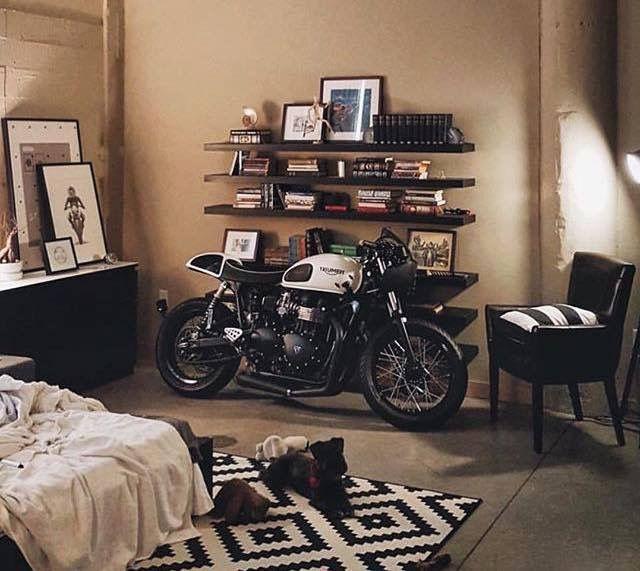 bedroom homes pinterest moto deco moto et maison. Black Bedroom Furniture Sets. Home Design Ideas