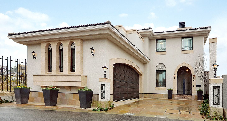実例紹介 Mitsui Home Premium 高級住宅 邸宅 注文住宅の三井