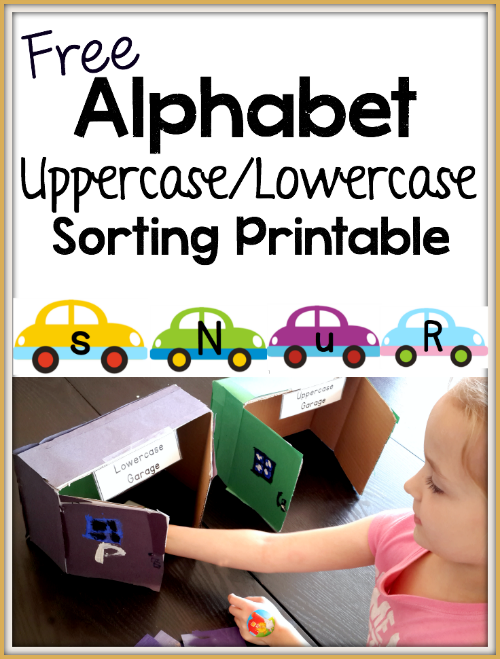 free alphabet sorting activity learning with life over c 39 s sorting activities preschool. Black Bedroom Furniture Sets. Home Design Ideas
