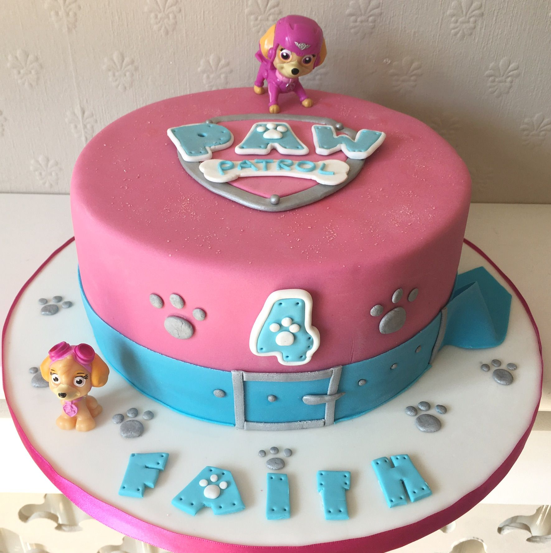 Images Of Paw Patrol Cakes For Girls