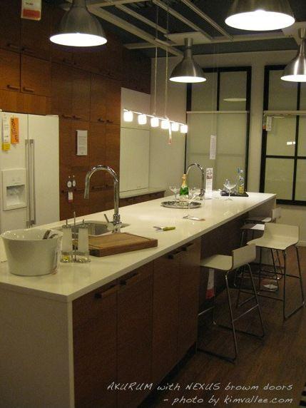 IKEA long kitchen island - perfect for entertaining, I\u0027m envisioning