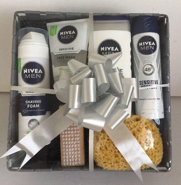 Mens Gift Set Box Pamper Hamper For Him Boyfriend Dad Birthday Present Nivea