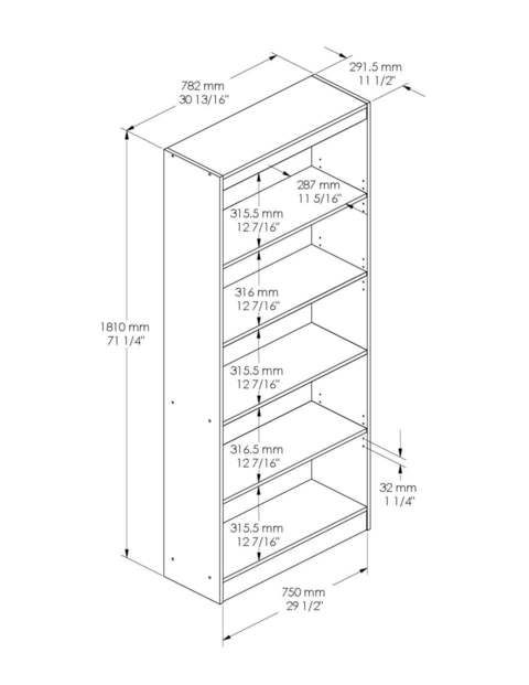 Book Shelves Dimensions Webfaceconsult