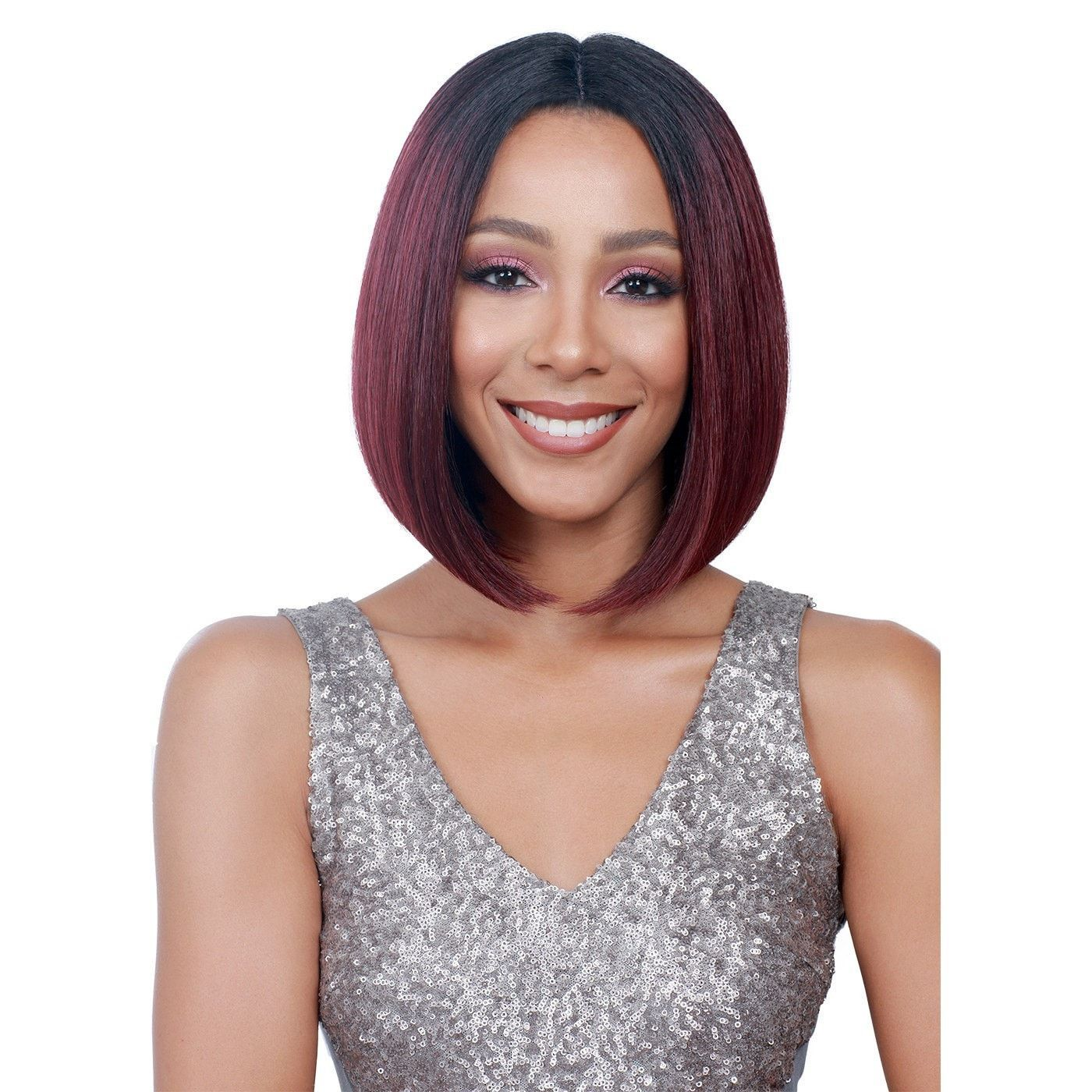 Bobbi Boss Premium Synthetic Swiss Lace Front Wig - MLF138 April