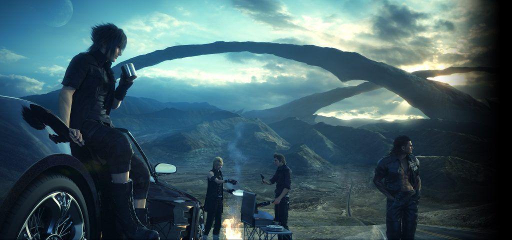 Final Fantasy Xv Wallpaper 2900x1360 ไฟนอลแฟนตาซ ต วการ ต นชาย วอลเปเปอร