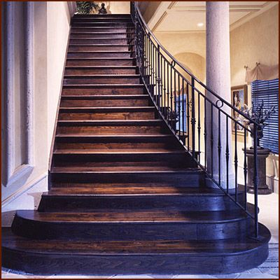 Reclaimed Wood Stairs | Antique Wood Stairs | FSC Recycled Wood Stairs U2013  Treads, Risers