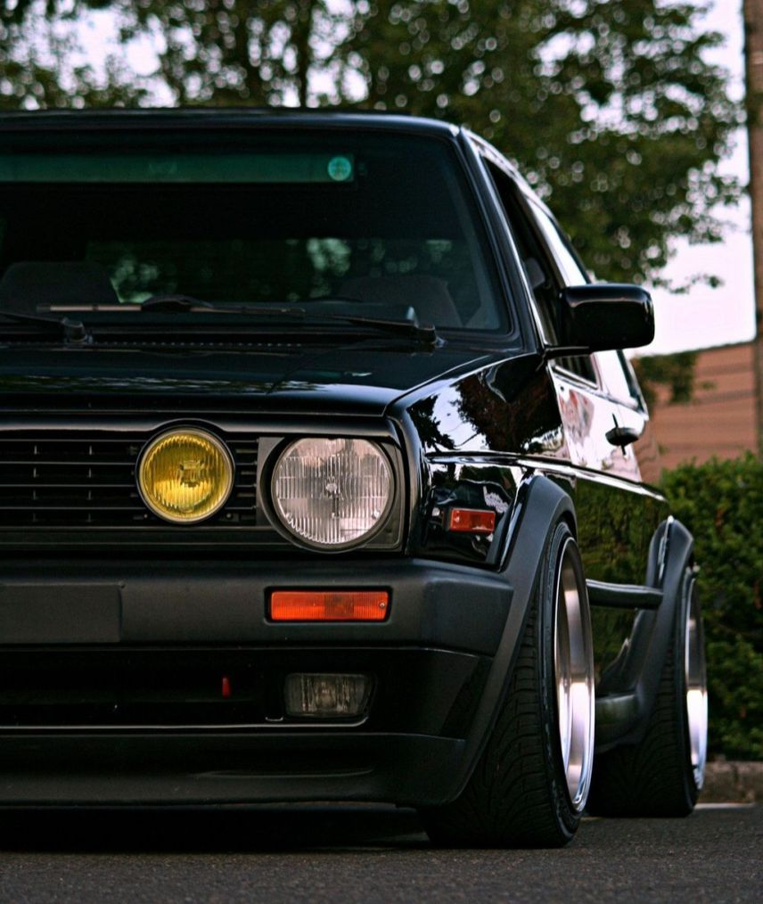 Photos Volkswagen Rabbit Euro Gti Classic Volkswagen Golf Mk2