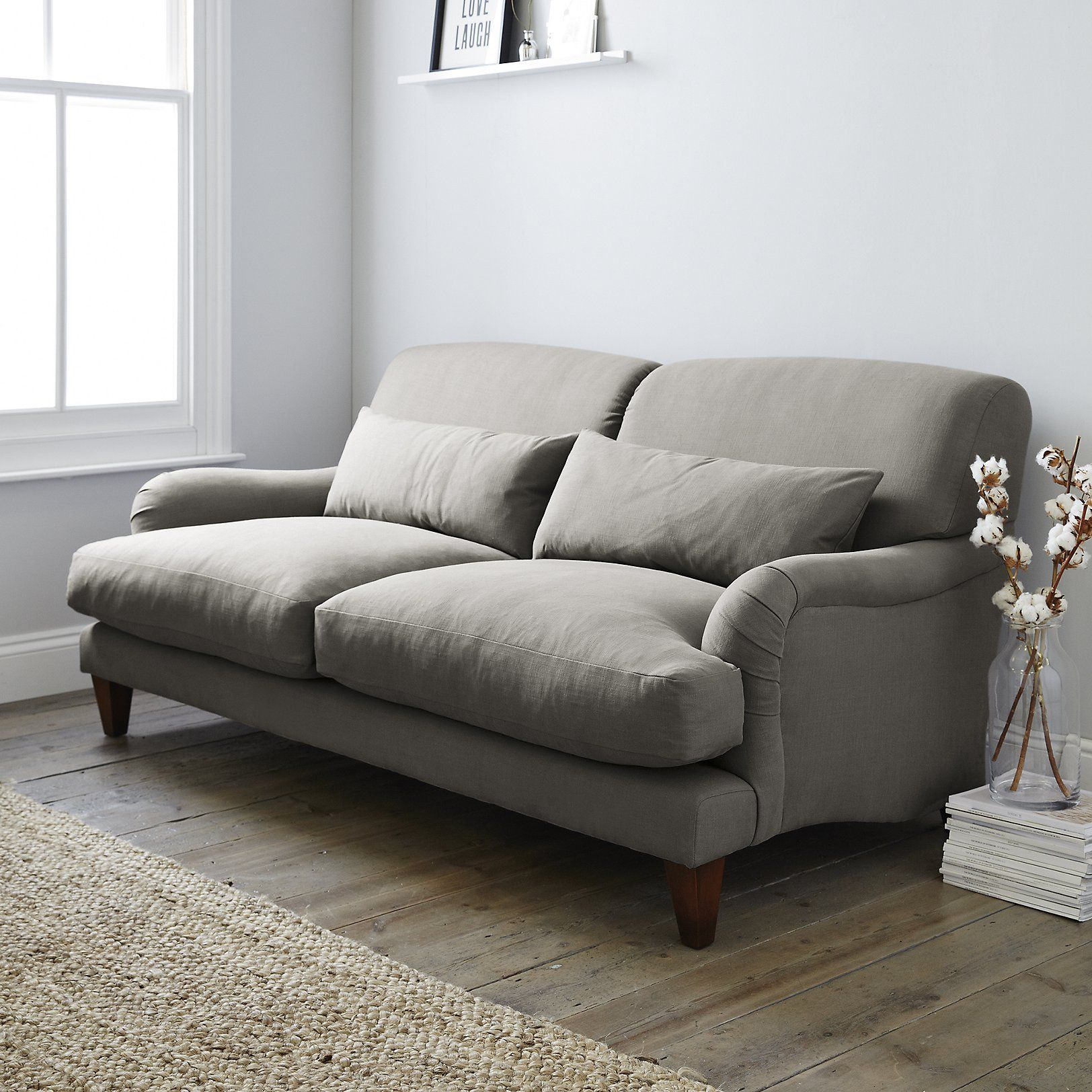 Petersham Cotton Sofa Sofas
