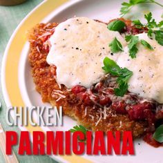 Try our best traditional Italian recipe for Chicken Parmigana. You really can't go wrong with a bit of homemade marinara and some fresh parmesan cheese.