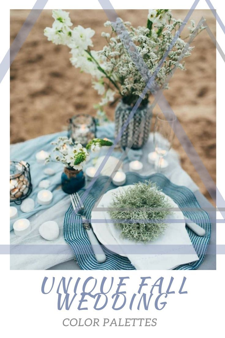 Unique Fall Wedding Color Palettes Wedding Decorations And Ideas