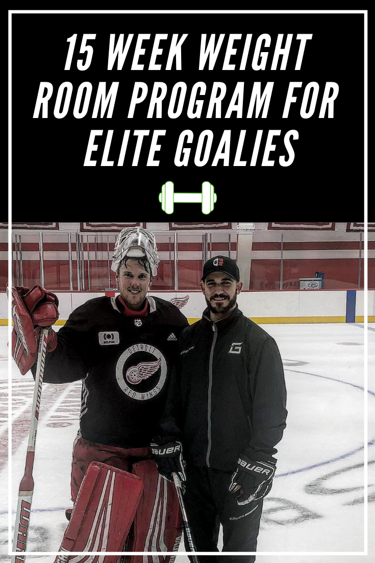 This Is A 15 Week Training Program For Goalies Who Have Access To A