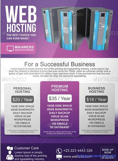 Best Web Hosting Flyer Print Templates Link  HttpWwwFrip