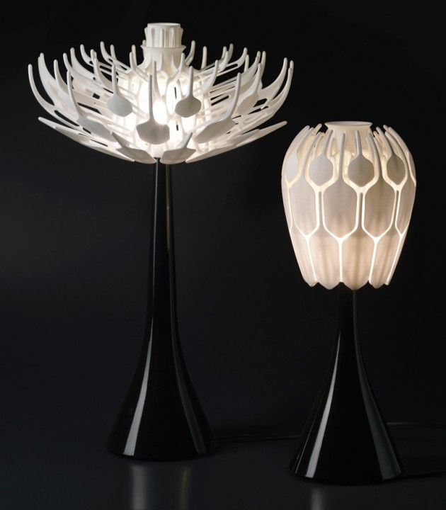 25 Amazing 3d Printed Furniture Designs Of The Future 3d Printed Furniture Table Lamp Design Lamp