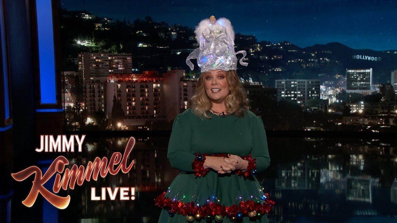 Melissa McCarthy\'s Guest Host Monologue on Jimmy Kimmel Live ...