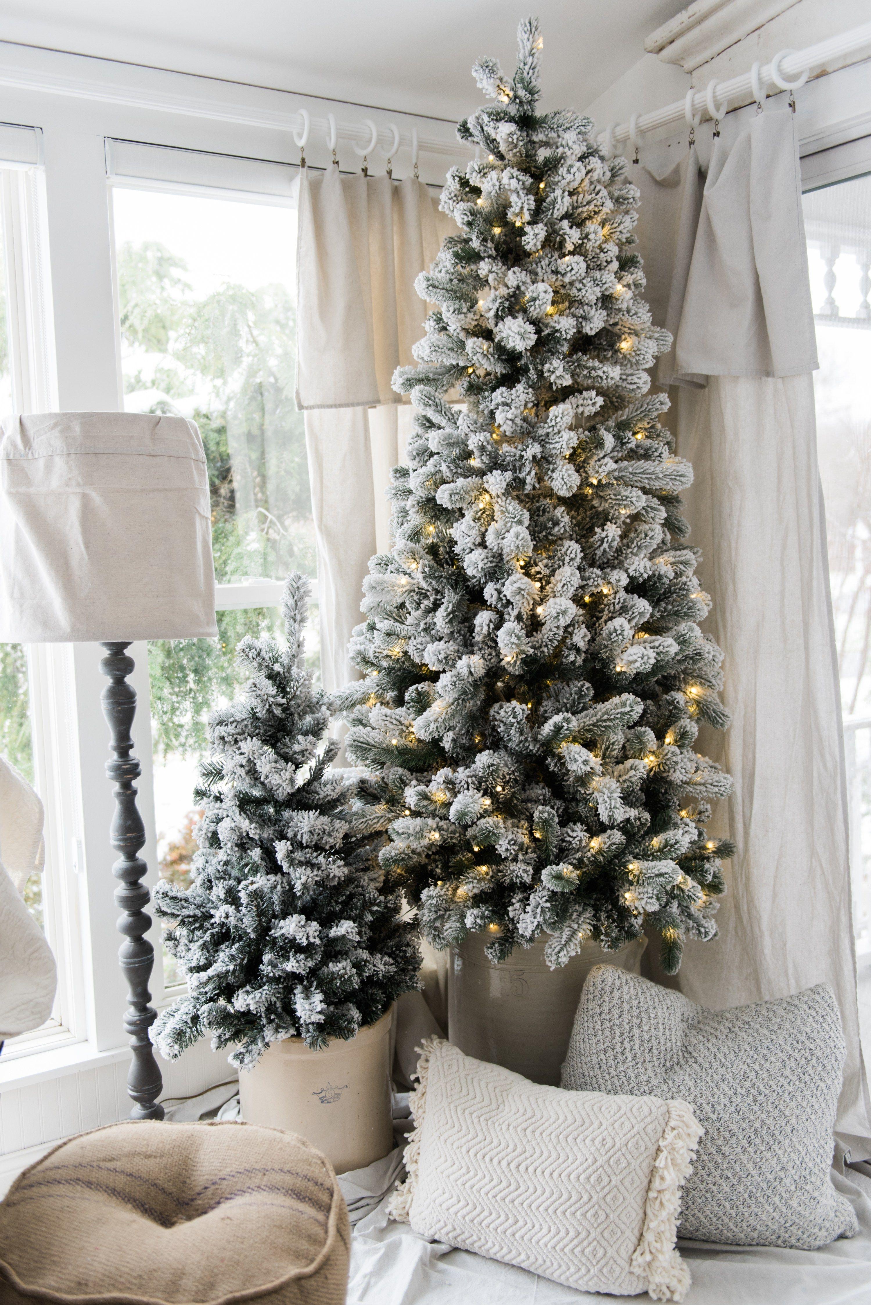 A Cozy Neutral Farmhouse Christmas Pinterest