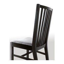 NORRNÄS Stol svart, Isunda grå   Chair, Furniture, Ikea