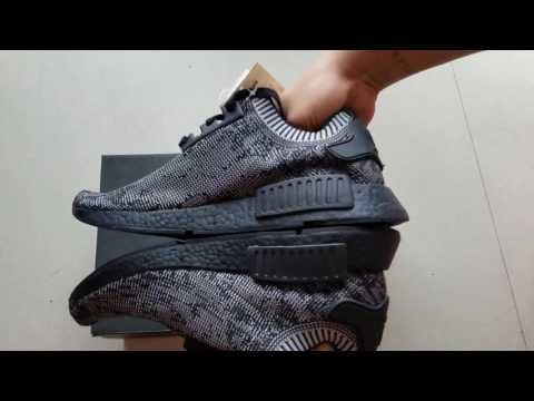 6f7284cd1c6d1 ... NMD Pitch Black Unboxing Review Martha Sneakers ...