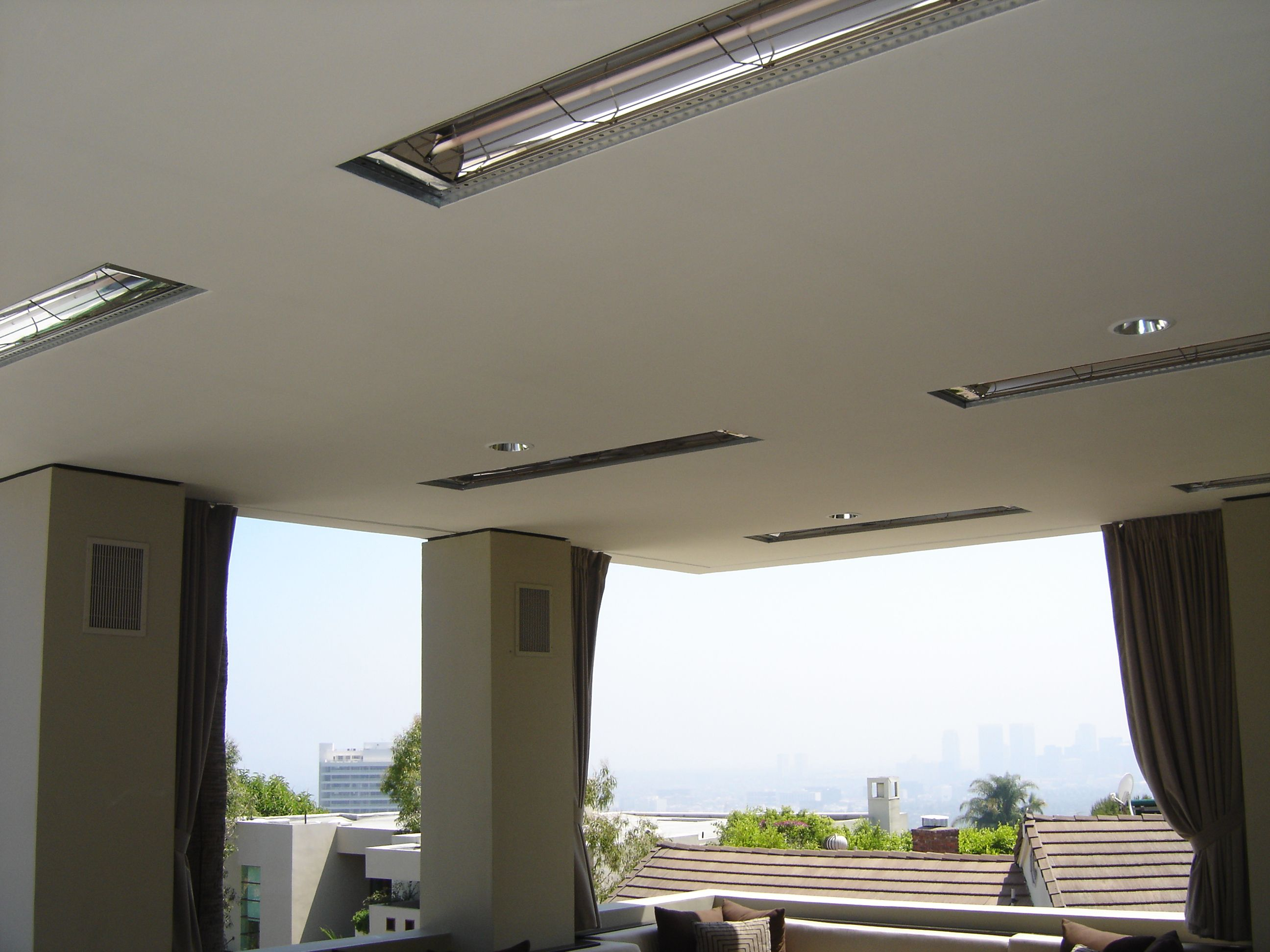 Merveilleux Flush Mounted Heaters In Patio Ceiling Outdoor Electric Heater, Outdoor  Heaters, Patio Heater,