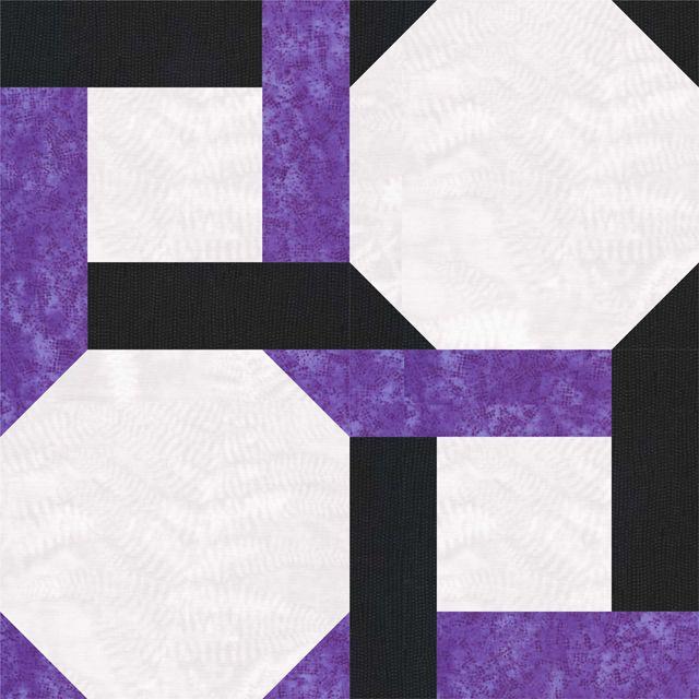 Have Fun with Round the Twist, a Celtic Twist Quilt Block Pattern ... : free block quilt patterns - Adamdwight.com