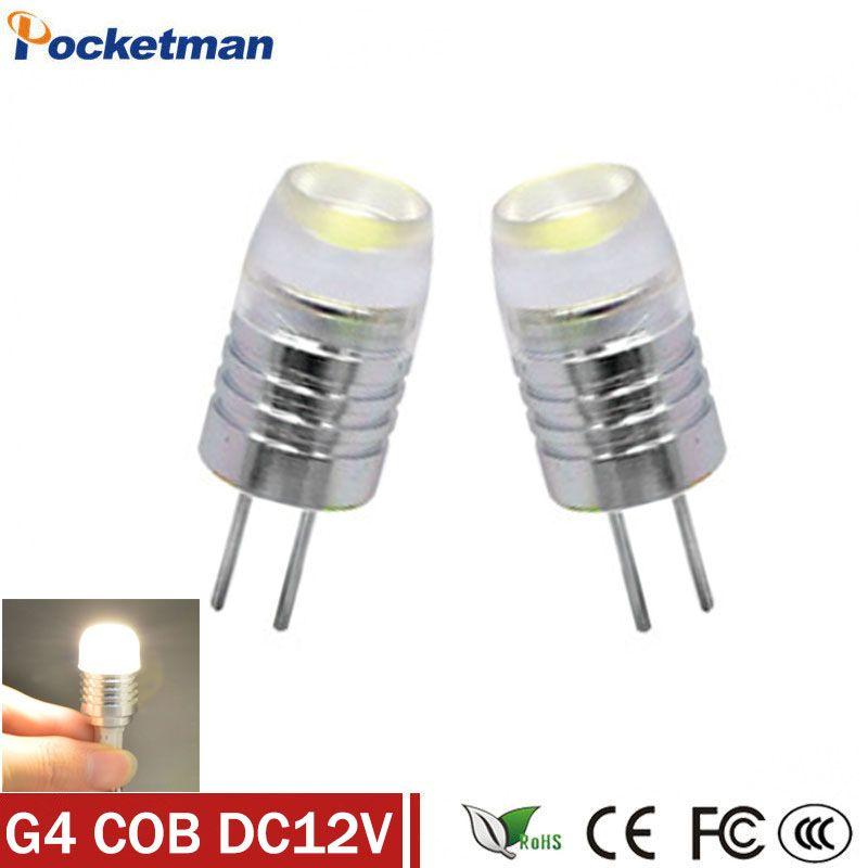 Zk40 Mini G4 Led Lamp Power 3w 5w 6w Cob Light Dc Ac 12v 360 Beam