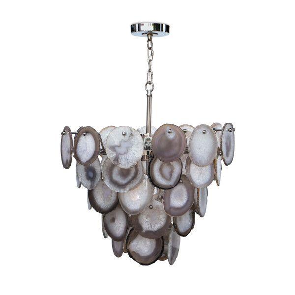 Sabrina Chandelier (Polished Nickel) | Faves - Lighting ...