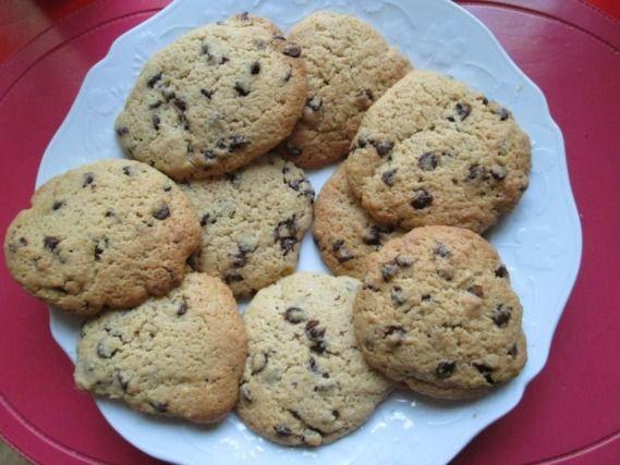 Recette - Cookies aux pépites de chocolat et amandes | 750g