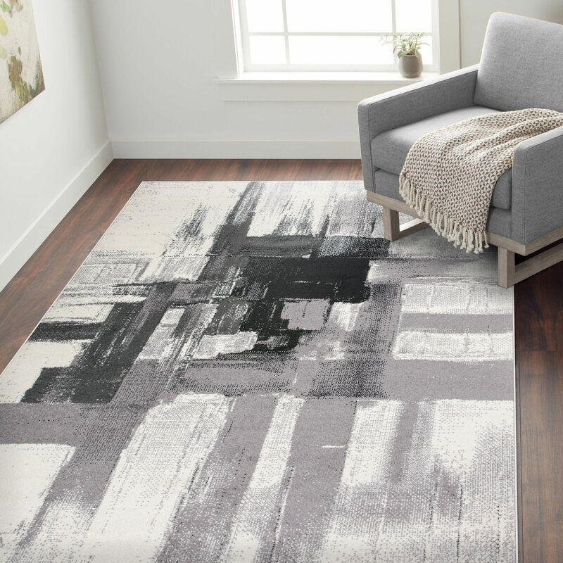 Niantic Abstract Cream Black Light Gray Dark Gray Area Rug Ad Sponsored Sponsored Cream Abstract Li In 2020 World Rug Gallery Modern Area Rugs Abstract Rug