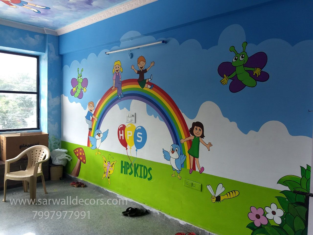 Pin By Irfan Mughal On Class Rooms Designs School Wall