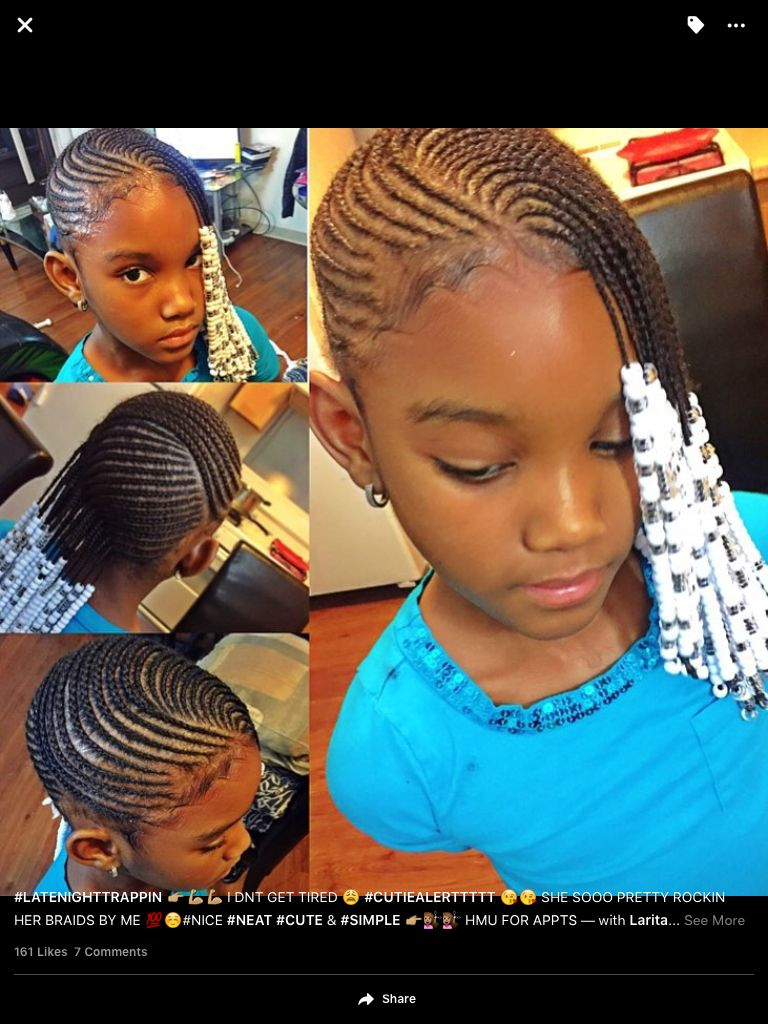 Cute lil girl hairstyle little girl braids pinterest lil girl