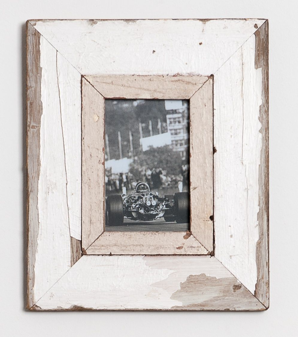 distressed wooden picture frame handmade in south africa