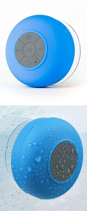 Waterproof Wireless Bluetooth Shower Speaker! #product