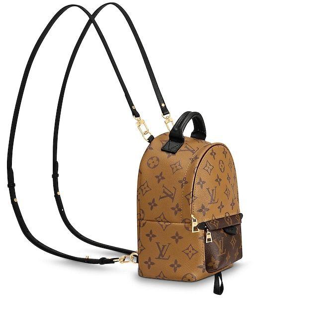 da906917f2370 Palm Springs Backpack Mini Monogram Reverse Canvas - Handbags | LOUIS  VUITTON ®