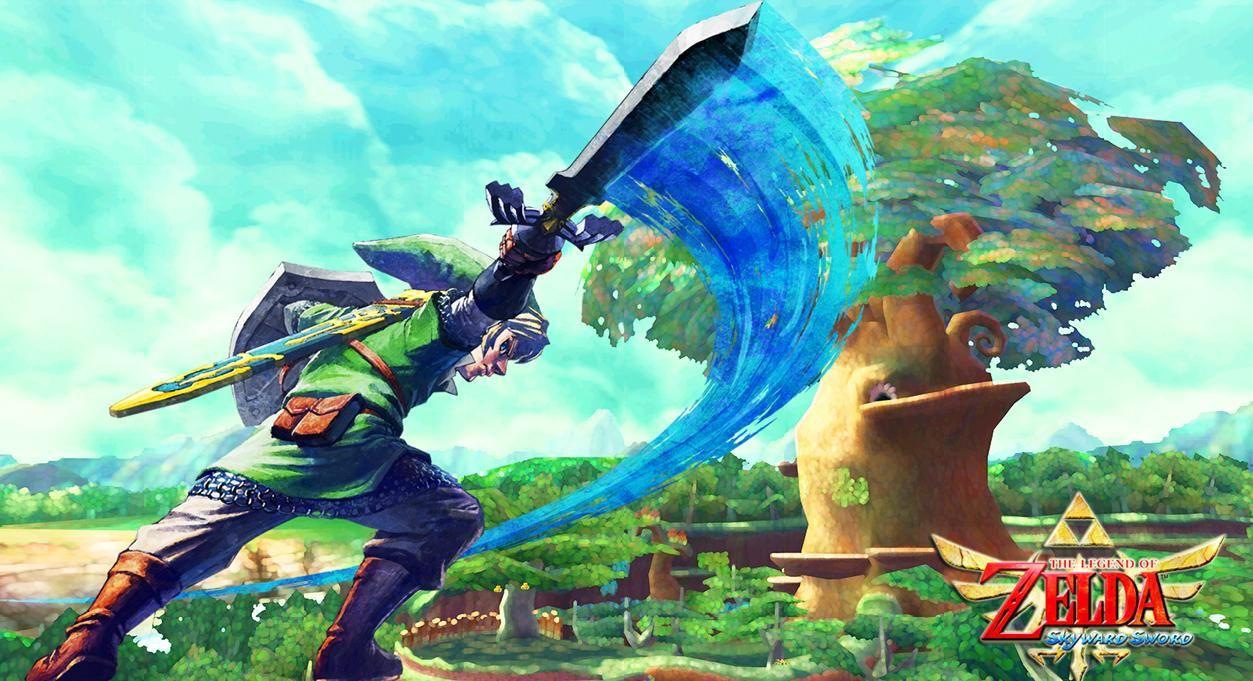 Legend Of Zelda Skyward Sword Wallpapers Wallpaper Cave Zelda
