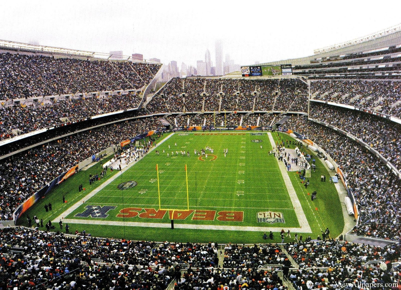 Chicago Bears Stadium Nfl Hd Wallpapers Chicago Bears Wallpaper Chicago Bears Stadium Soldier Field
