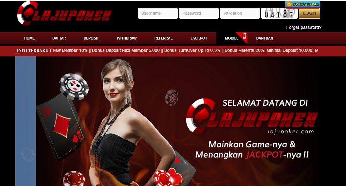 lajupoker.com domino99,Dewapoker, Poker Freechips,BandarQ