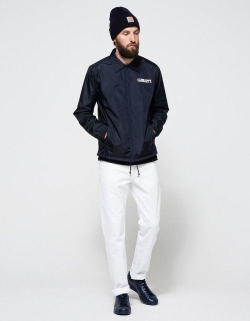 Carhartt WIP. Collage Coach Jacket.  menswear mnswr mens style mens fashion fashion style wip campaign carhartt streetwear look