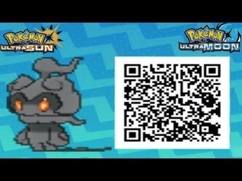 Pokemon Ultra Sun Event Qr Codes Youtube Pokémon Coding