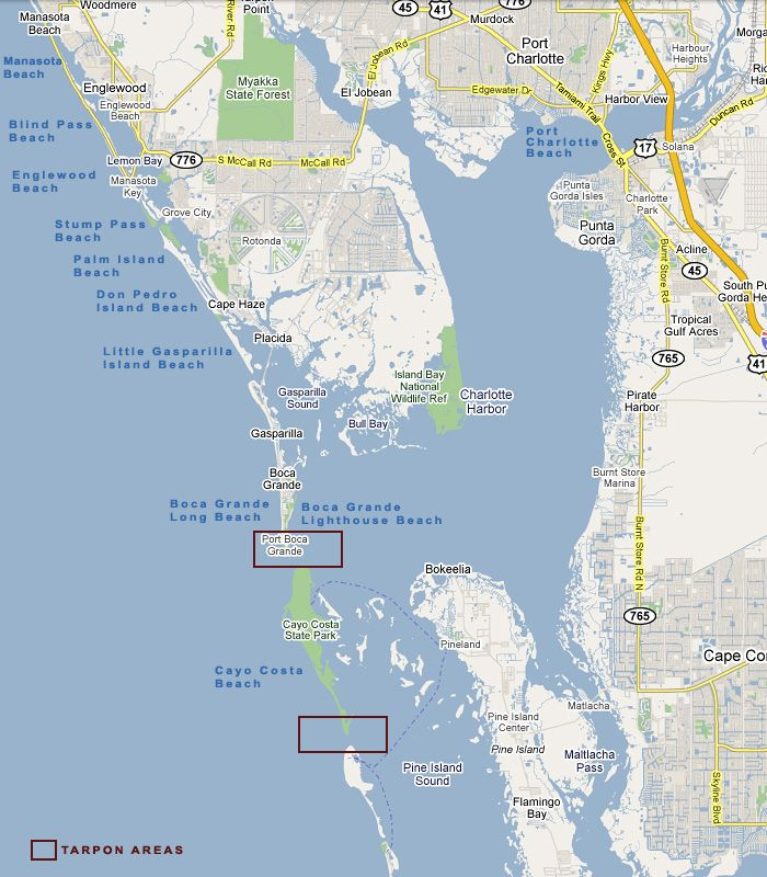 Where Is Cape Haze FL |  cape haze englewood fl map cape haze