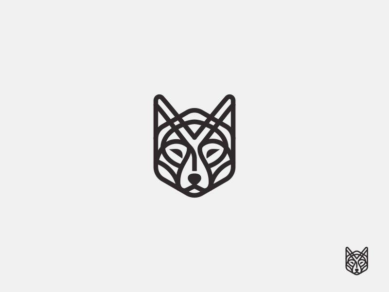 Line Wolf Tattoos Pinterest Tattoos Logos And Tattoo Designs
