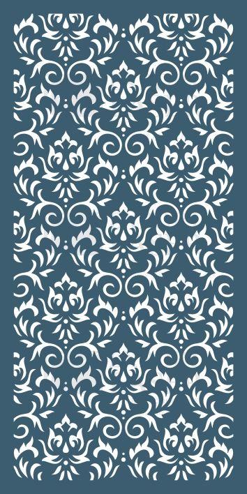 Exp044 Jpg 354 708 Divisorias De Ambientes Paineis De Parede Pintura Com Stencil