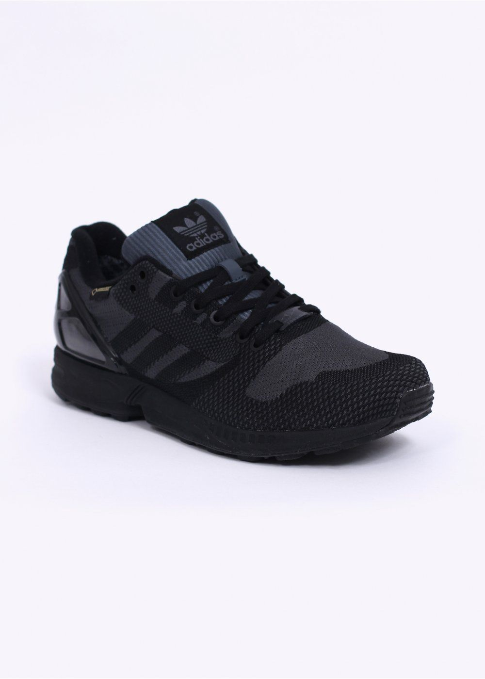 quality design 0da7d 53329 Adidas Originals Footwear ZX Flux Weave OG GTX Gore-Tex Trainers - Black    Black